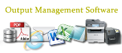 Output management software